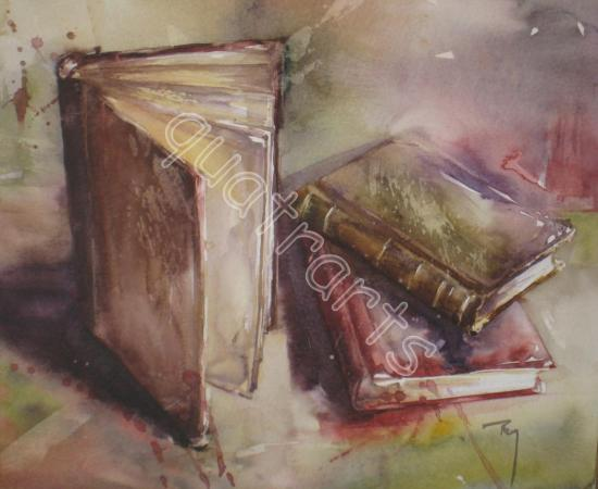 A livre ouvert... 150 euros - 23 x 23 cm- nov 2012