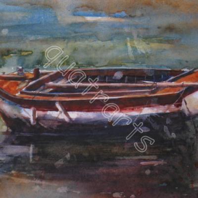 Barque- 110 euros (+30 euros)- 15 x 27 cm- mai 2012