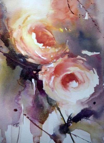 Amourette... 16 x 24 cm- Mars 2014