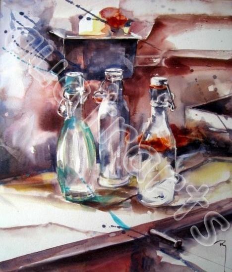 Effets de verre 1- 40x50cm- 210€-2014- VENDU