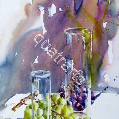 Effets de verre- 40x60cm-2017