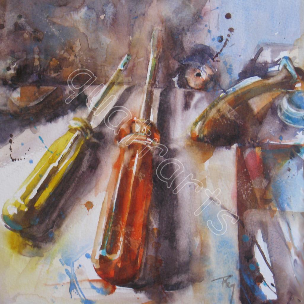 En duo-180 euros (Passe partout 40 x 40 cm)- 21x 21 cm- oct 2012