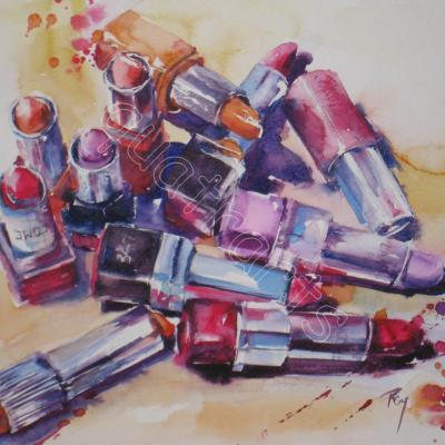 For lips- 23 x 23 cm- juillet 2012