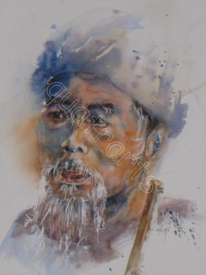 Homme du Vietnam-Prix sur demande - 29 cm x 43 cm -Mars 2011