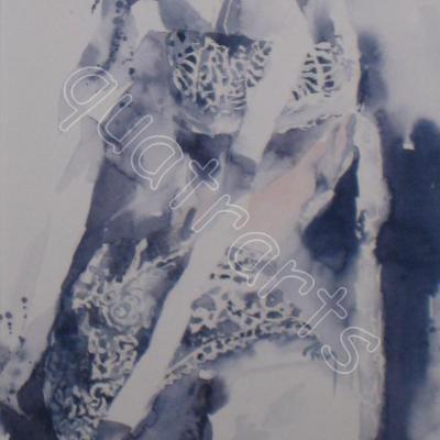 La coiffe- 130 EUROS - VENDU- 18 x 30 cm- février 2012