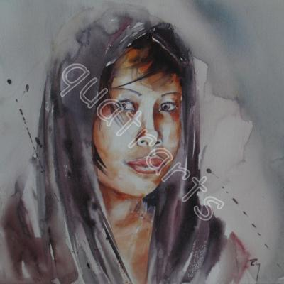 Aquarelles (portrait)