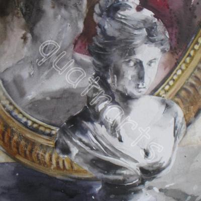 Dans le miroir-180 euros - 24 x 33 cm- janvier 2013