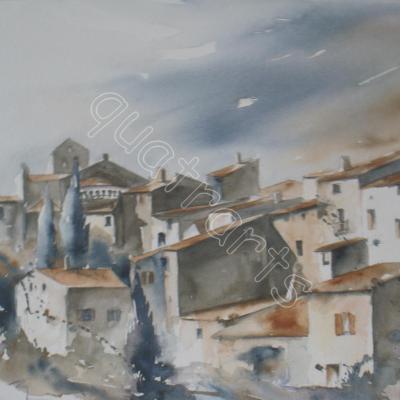 St Ghillem du désert- 31x37 cm-