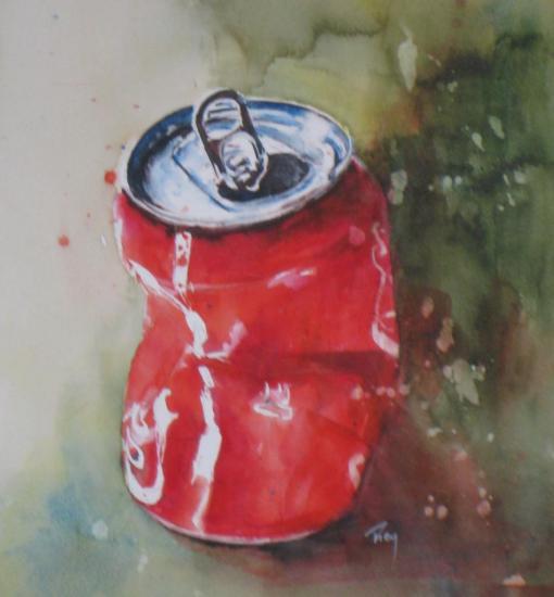 Trop coca!- 80 euros (+20 euros)- 27 x 27 cm- décembre 2011