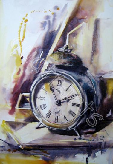 Trop tôt... 38 x 46 cm- Prix sur demande- Novembre 2014