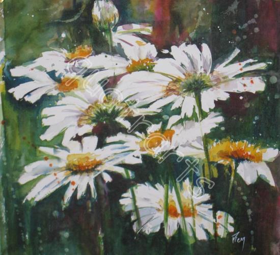Un peu, beaucoup,... Mars 2012- 110 € (+20 € de cadre)- 22 x 22 cm