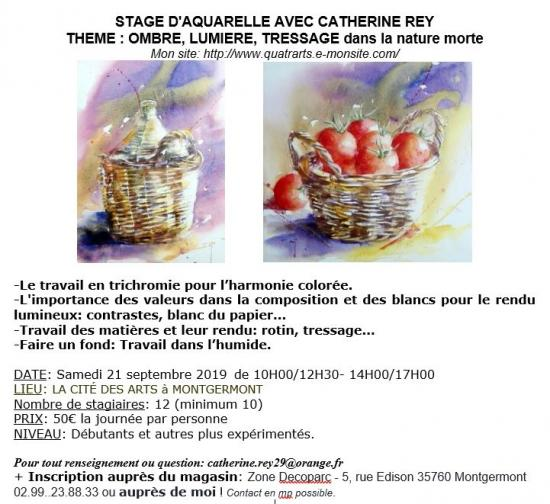 Fiche annonce stage
